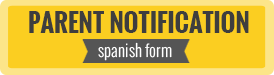 Parent Notification - Spanish Form - Opens a Word Document